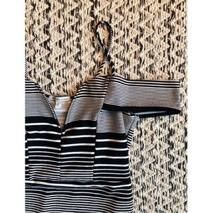 Charlotte Russe Striped Going Out Dress